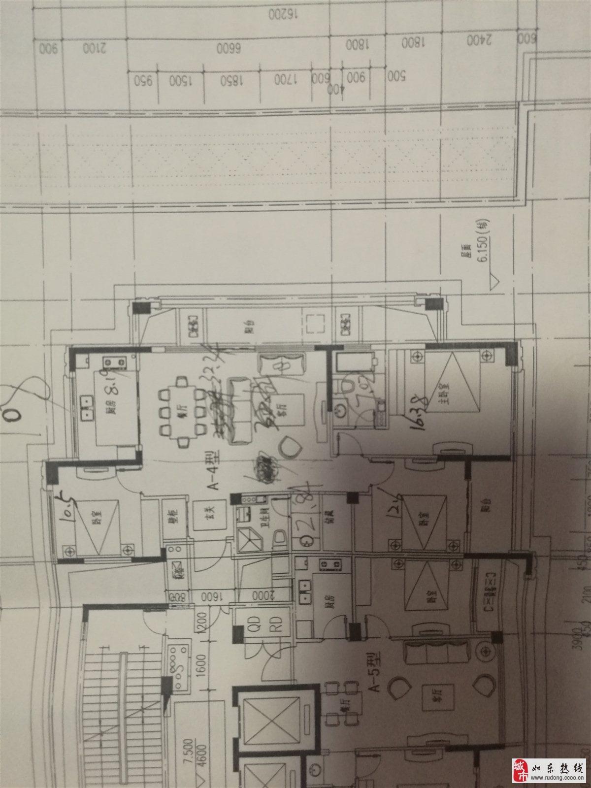 尚诚中介:锦绣瑞府三室二厅140平126万含开户费用
