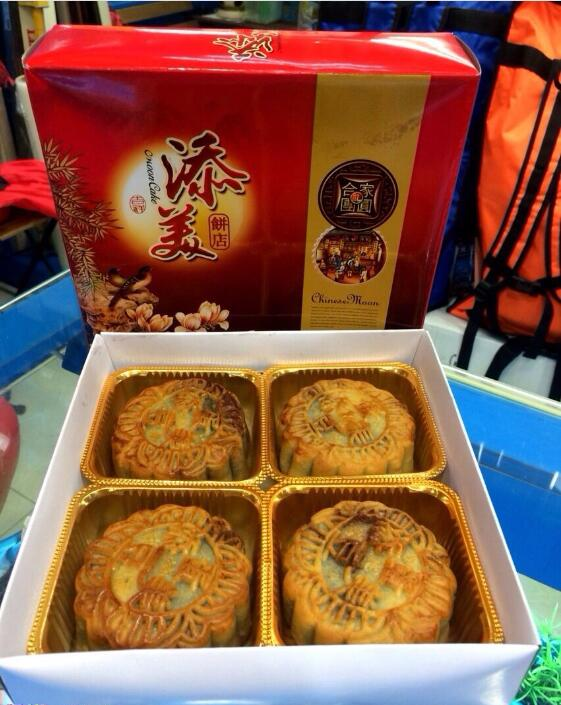 莲洲(莲溪)手工月饼