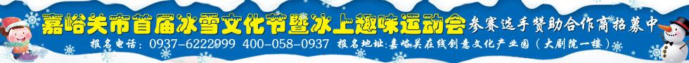 嘉峪关市首届冰雪文化节