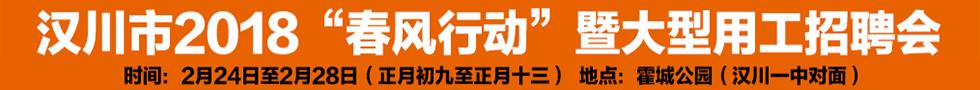 """2018""""春风行动""""暨大型用工招聘会公告"""