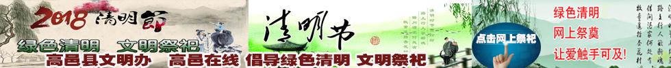 高邑网上网上清明节 绿色清明 文明祭祀