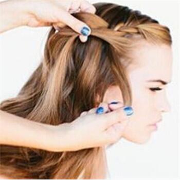 韩式新娘发型步骤图解