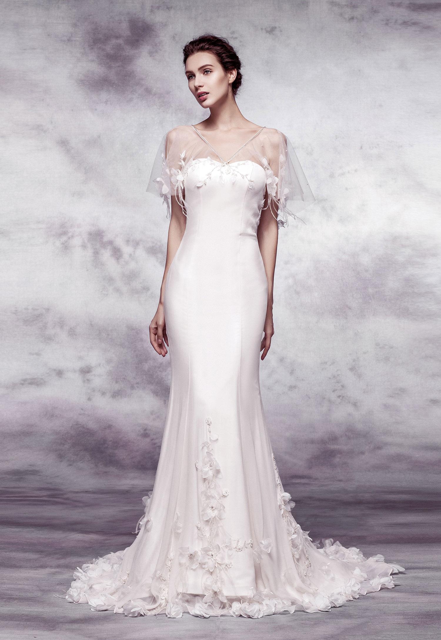 八大2017婚纱流行趋势 不同款式礼服解析