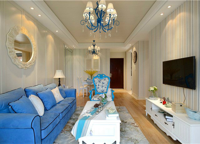 地中海风格客厅