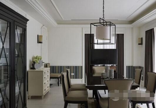 美式风格别墅装修效果图 细节处理展现大气质感追求