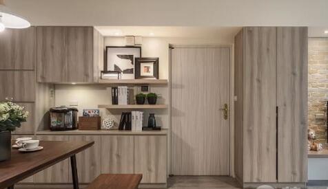 告别冷淡 装修网推荐温暖北欧风格小户型两居室设计