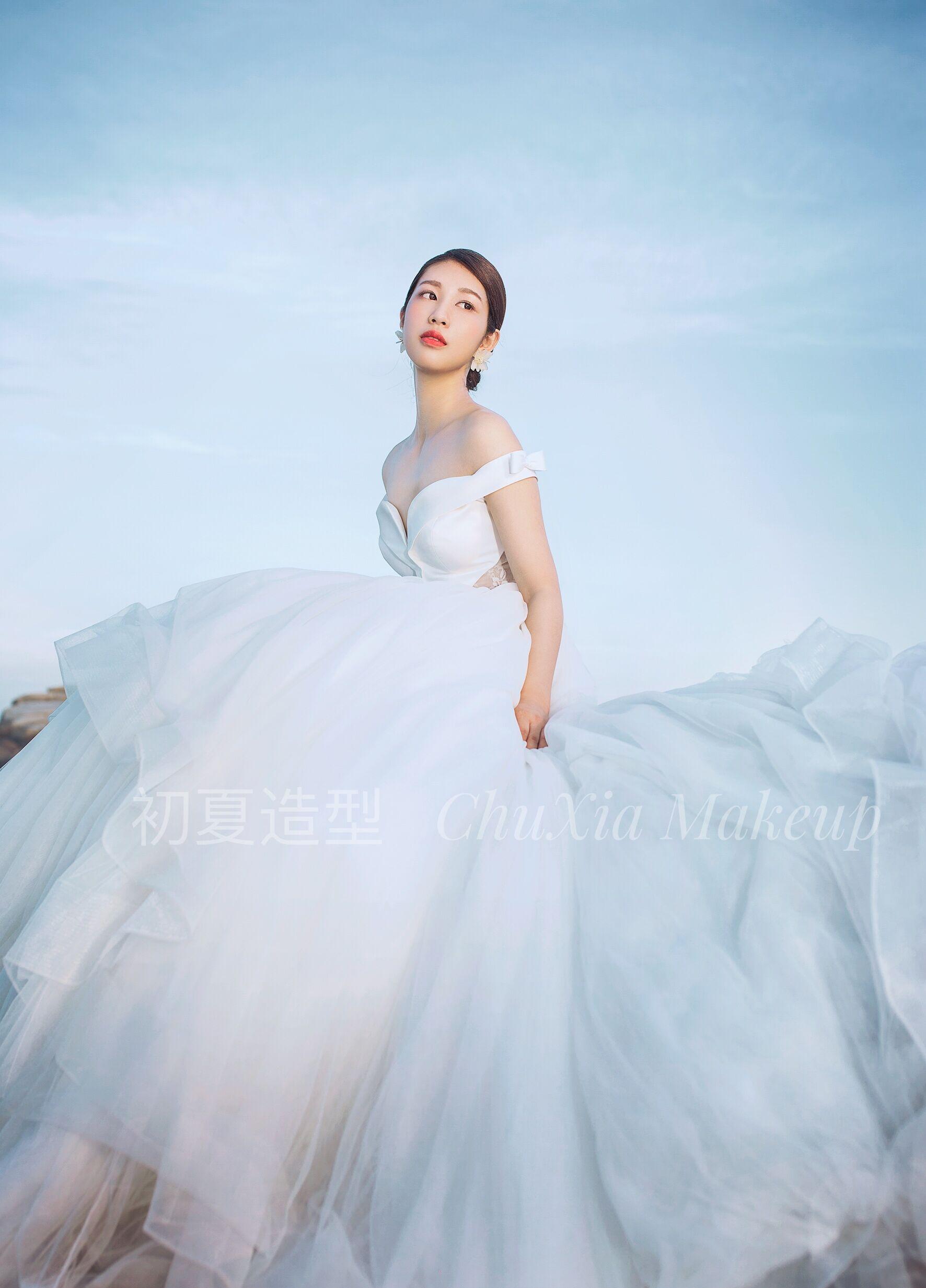 初夏新娘跟妆,以下客照。