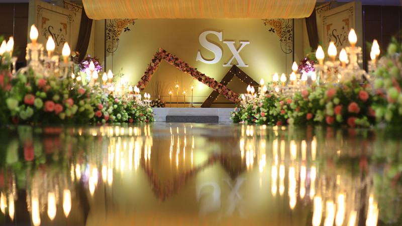 浪漫香槟色主题婚礼