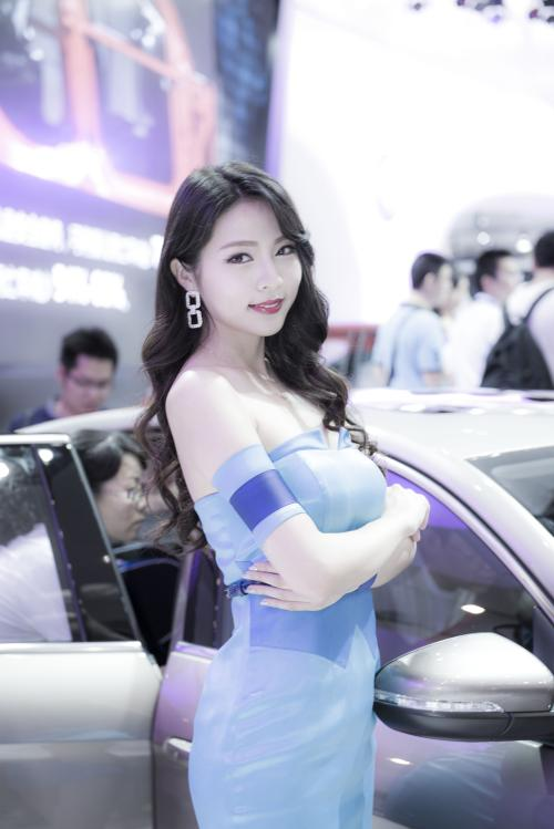 重庆车展美女豪车