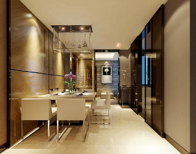 2017年客厅+餐厅多种风格室内装修效果