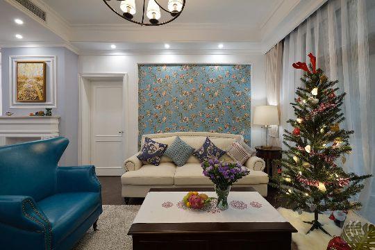 100平轻美式两居室,让你提前告别阴郁寒冬进入缤纷春日