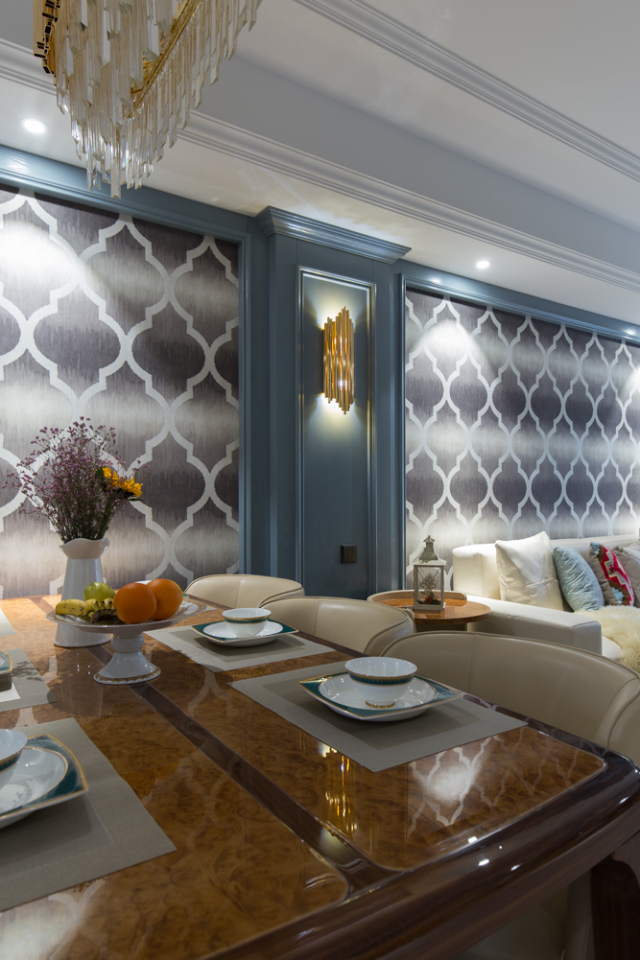 爱旅游的金融业主,和设计师一起装出160�O轻奢美宅
