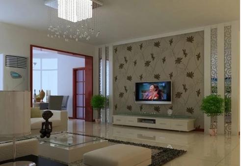 怎么選擇客廳電視背景墻壁紙