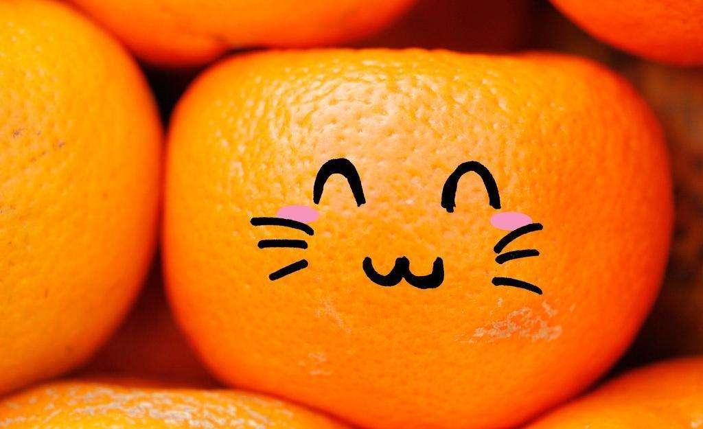 小橙子和大橙子