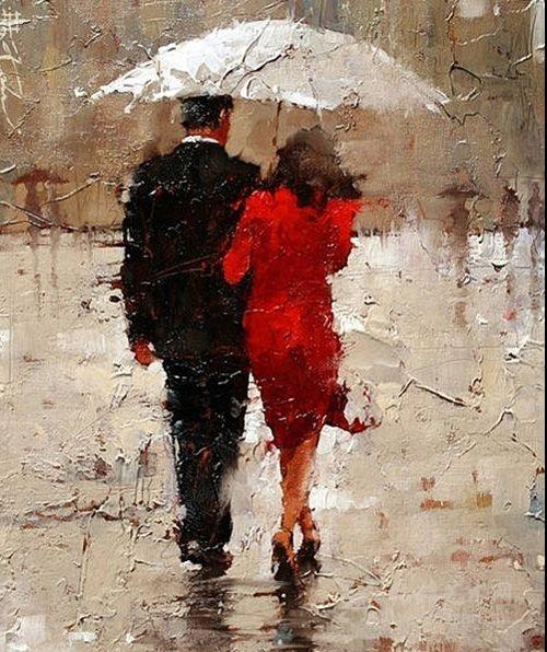 和你浪漫�L雨中