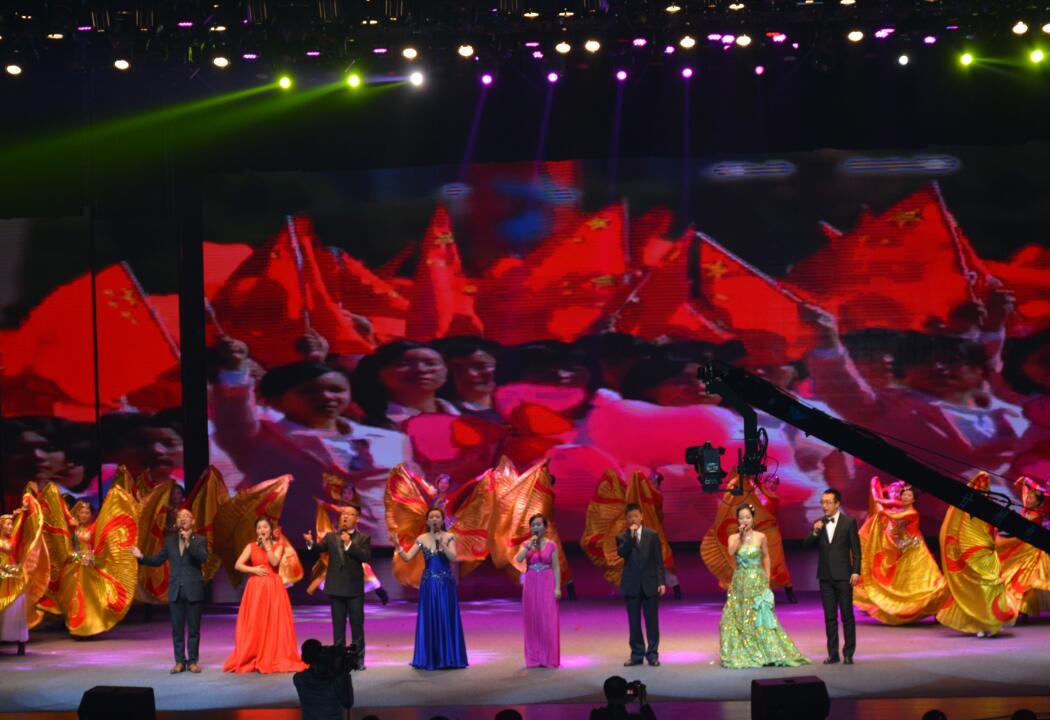 16歌舞《共筑中国梦》