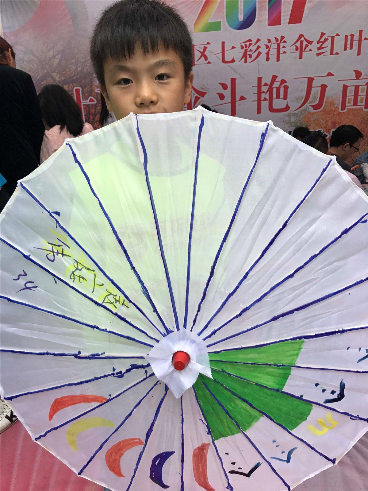 趙廷偉_diy洋傘,畫畫,曬照,贏大獎!_漢中在線
