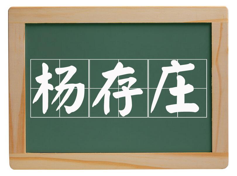 先锋办事处杨存庄村