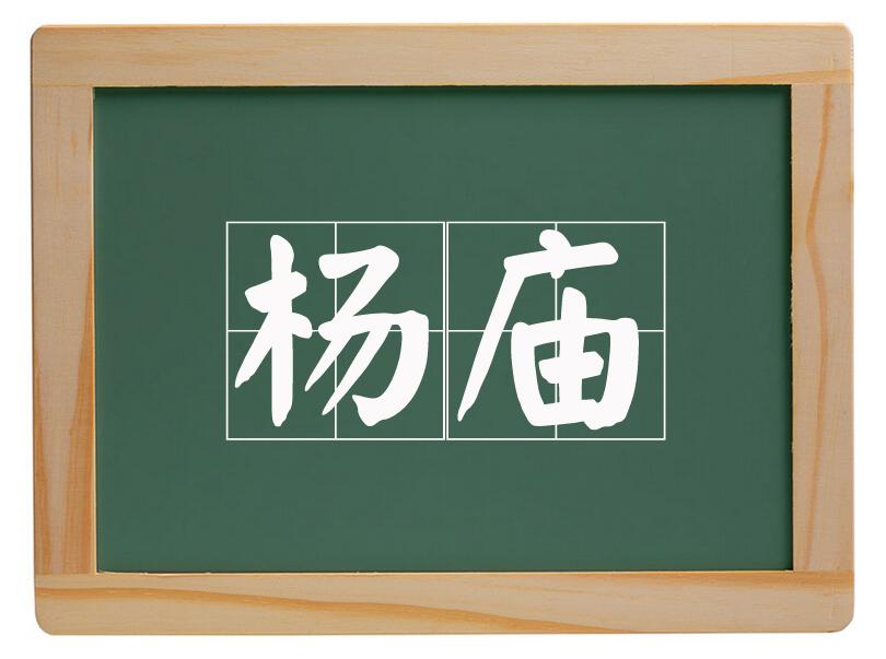 大辛庄办事处杨庙村