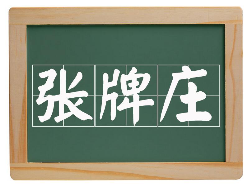 魏湾镇张牌庄村