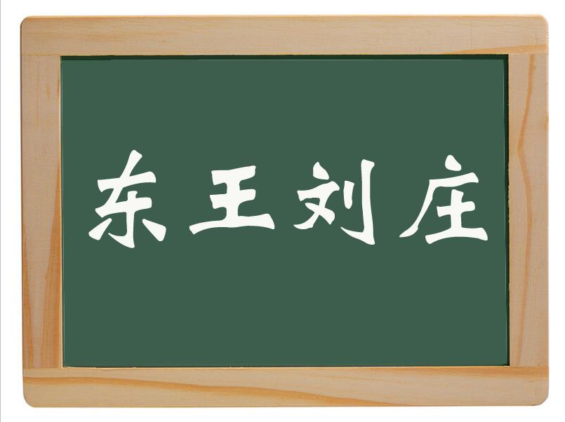 戴湾乡东王刘庄村