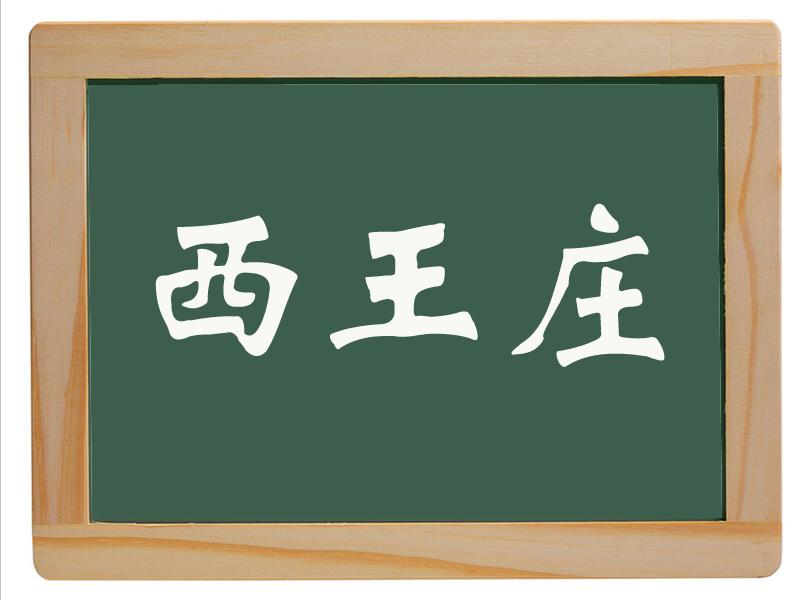 尚店乡西王庄村