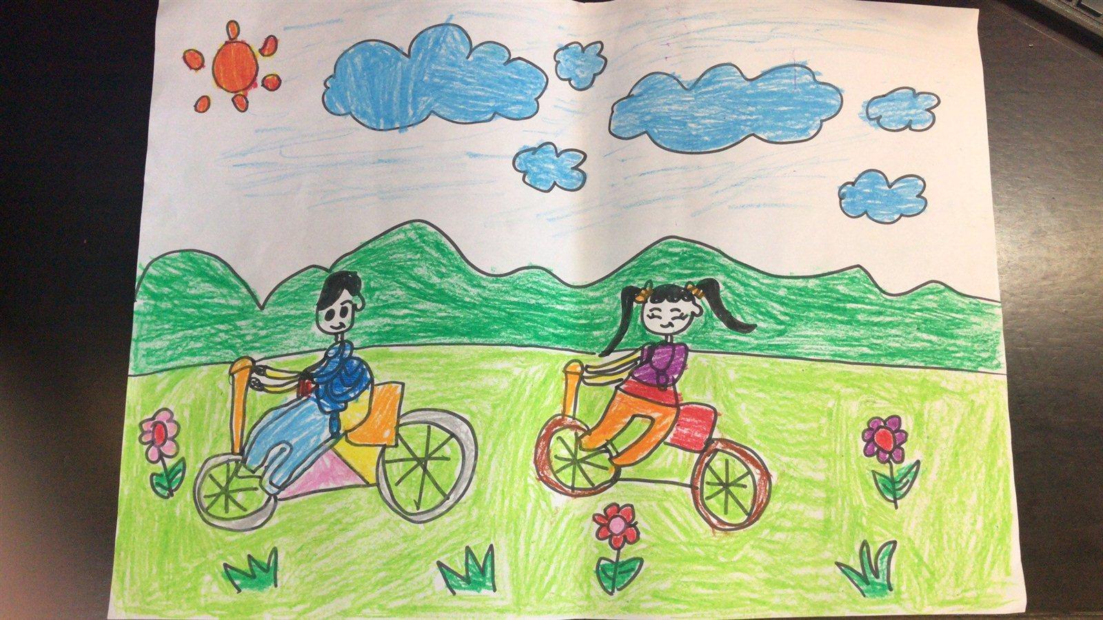 关于环保的儿童画作品-环保图片儿童画简单画_环保画_