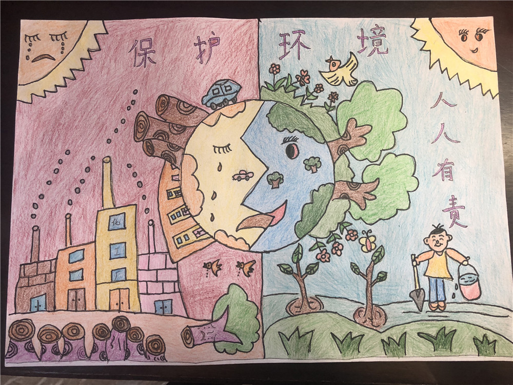 0051环保绘画作品苏荣洲