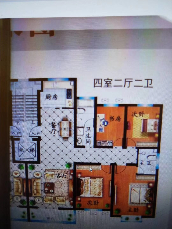 急售 金盾公寓4室 2厅 2卫49万元