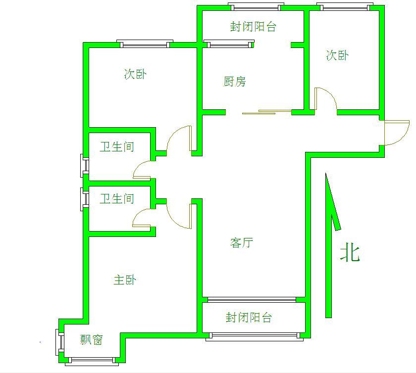 碧桂園九龍灣3室 2廳 2衛170萬元