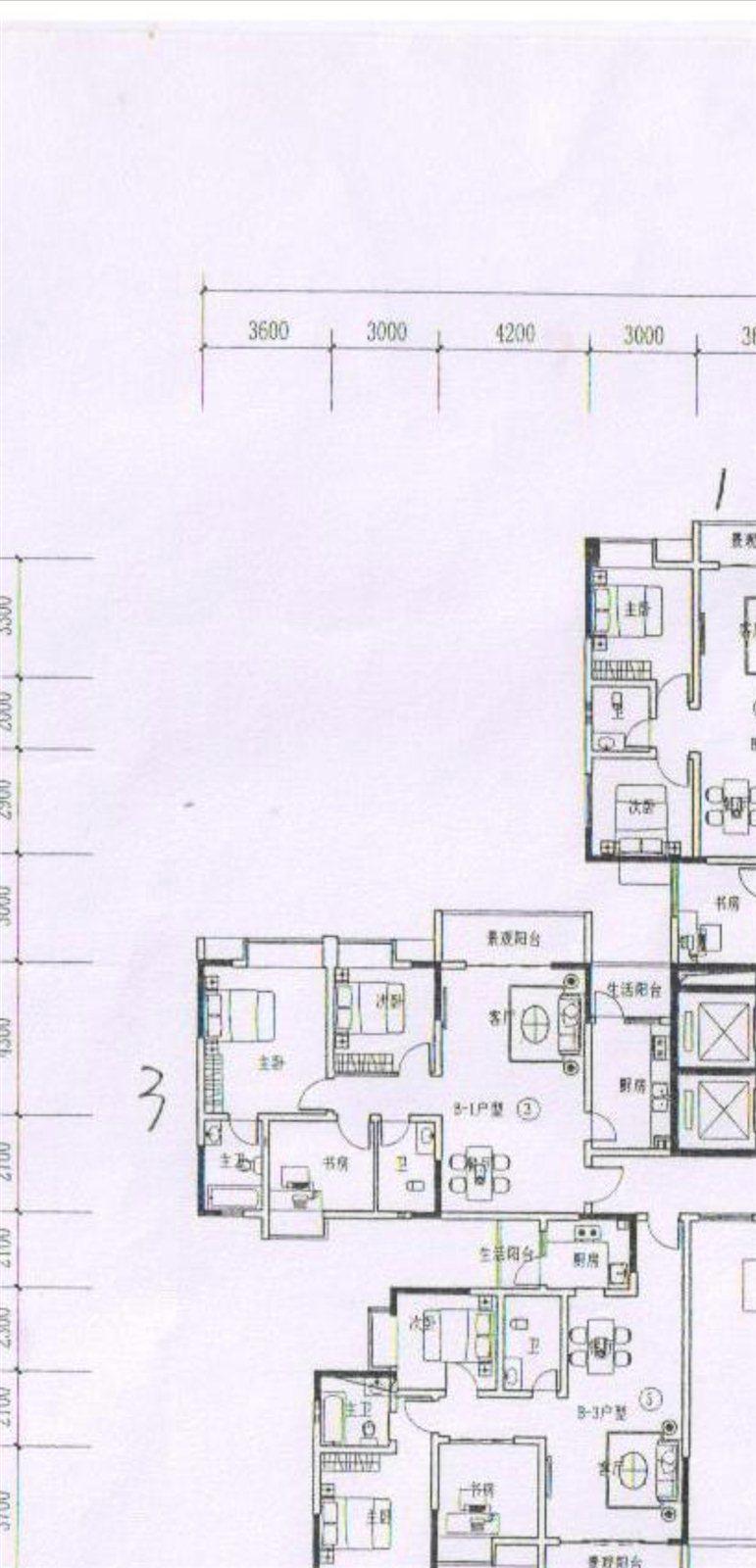 財富國際3室 2廳 2衛58萬元