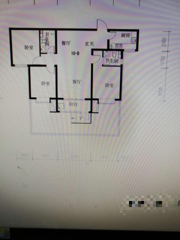 凤凰府邸3室 2厅 2卫带小房可接贷款45万