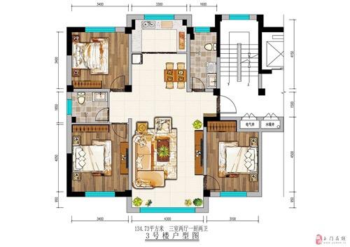 康輝花園頂賬房樓層結構可自選
