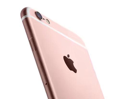 出售苹果6是玫瑰粉99新得