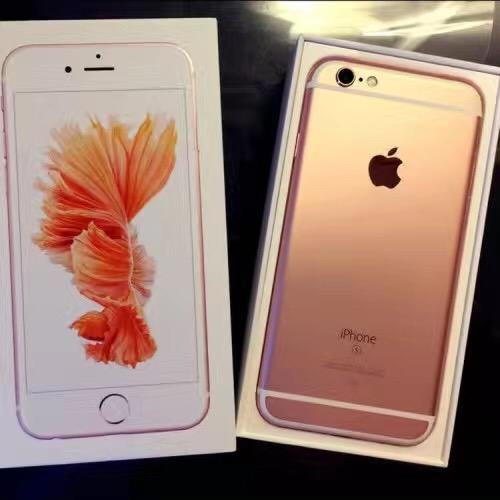 出售苹果6s玫瑰粉一部
