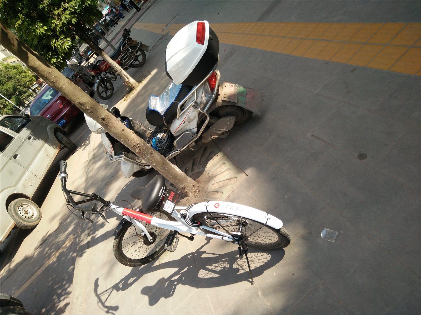 共享单车被破坏