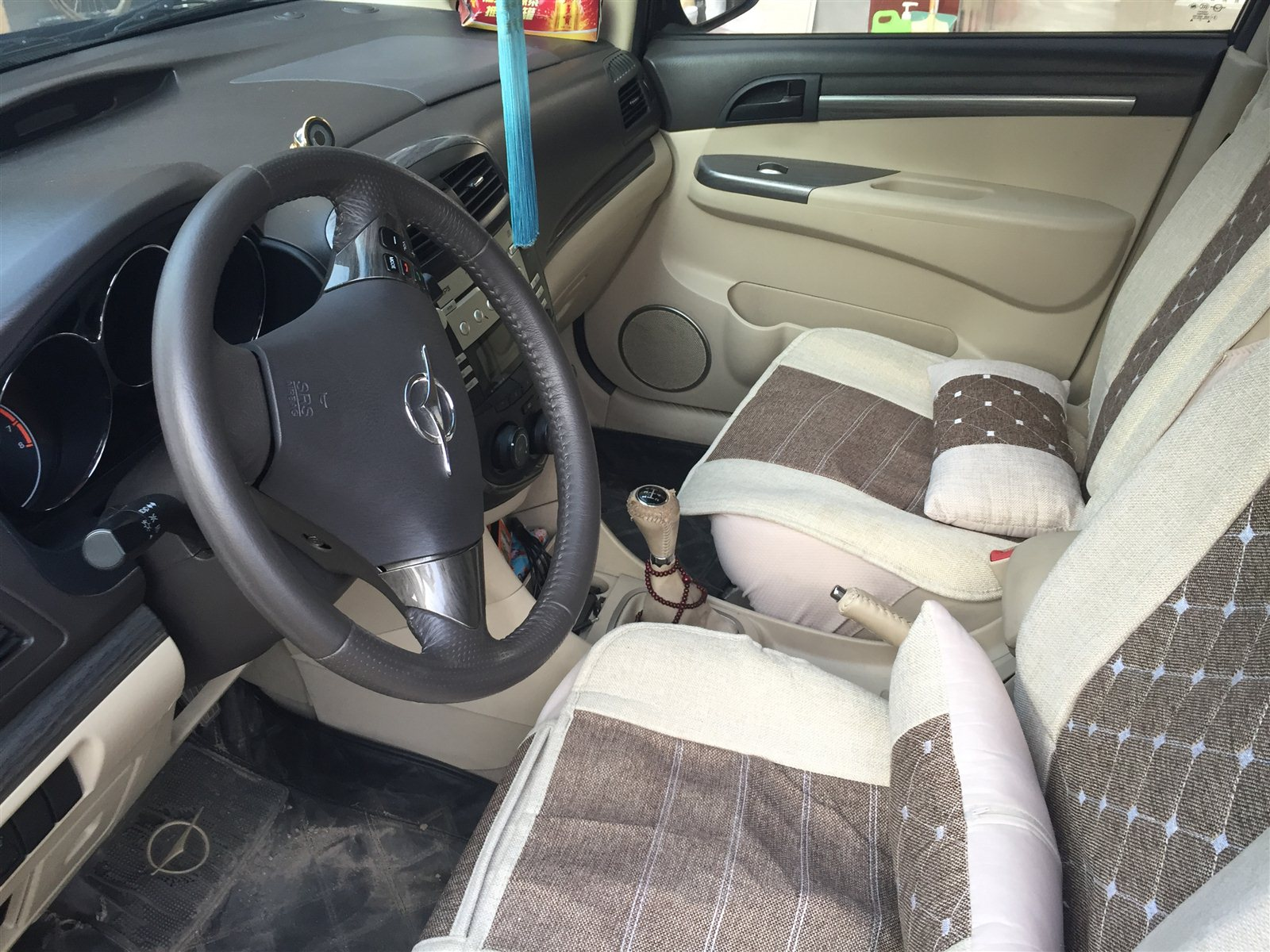 海马7座SUV行程5万公里便宜卖高清图片