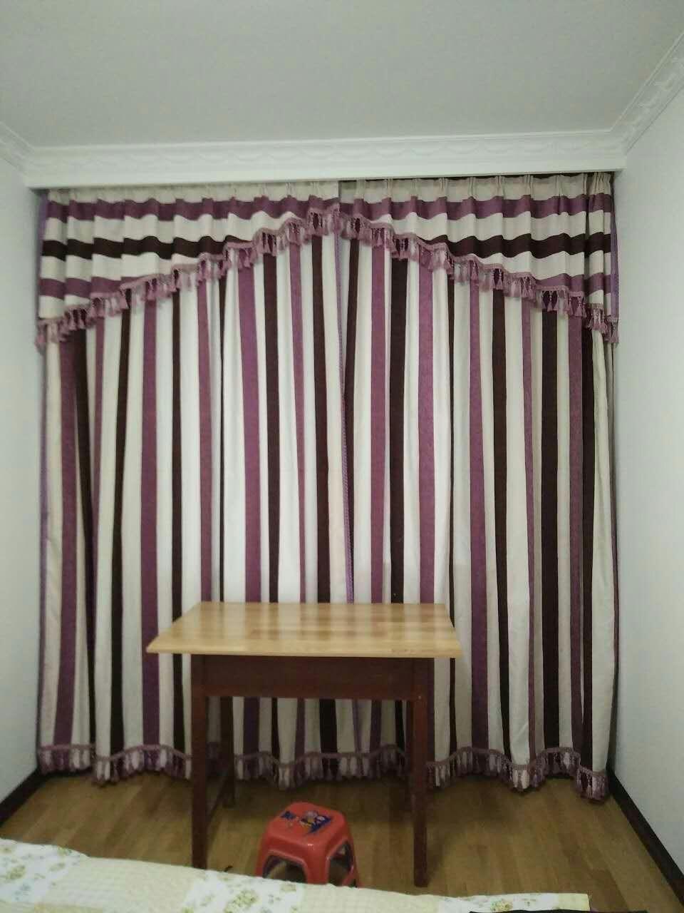 售全新窗帘2套