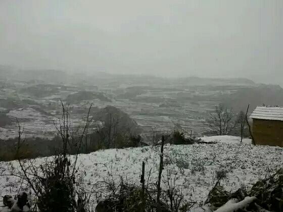 镇雄的冬天