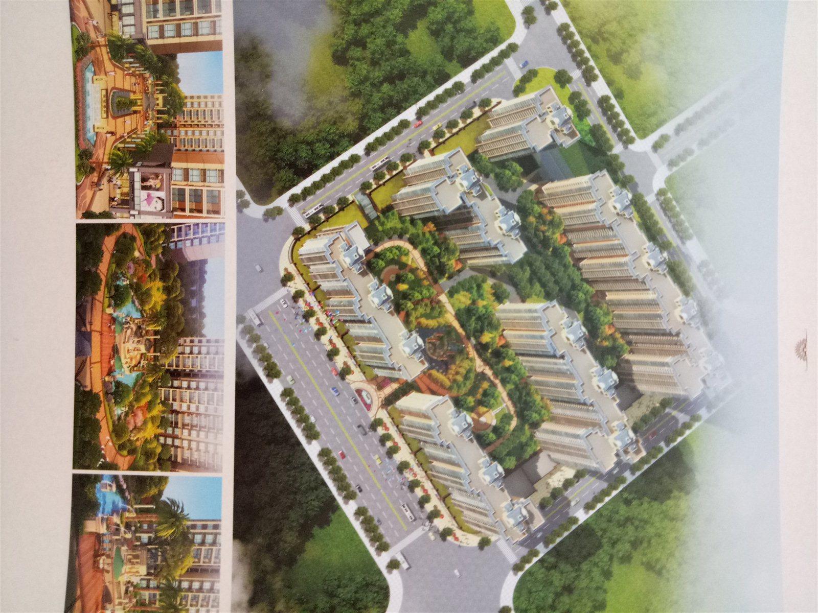 悦城绿州3室2厅2卫43.8万元