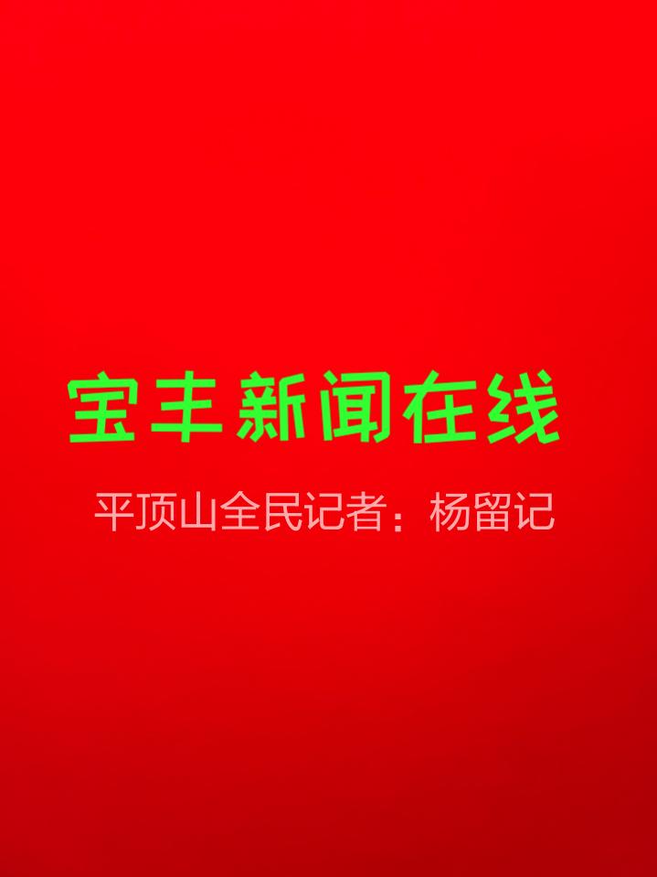 平顶山电视台全民记者杨留记
