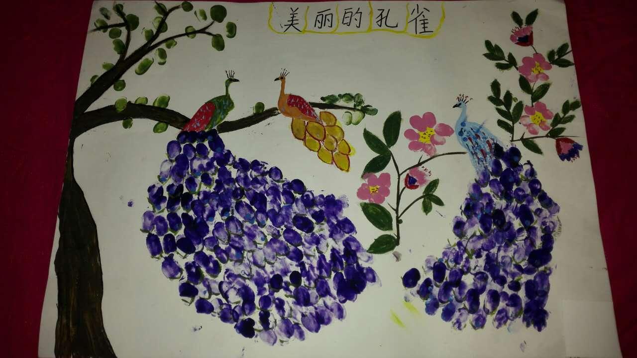 """刘晨语_江西万安首届少儿""""卉""""画创意大赛投票开始啦"""