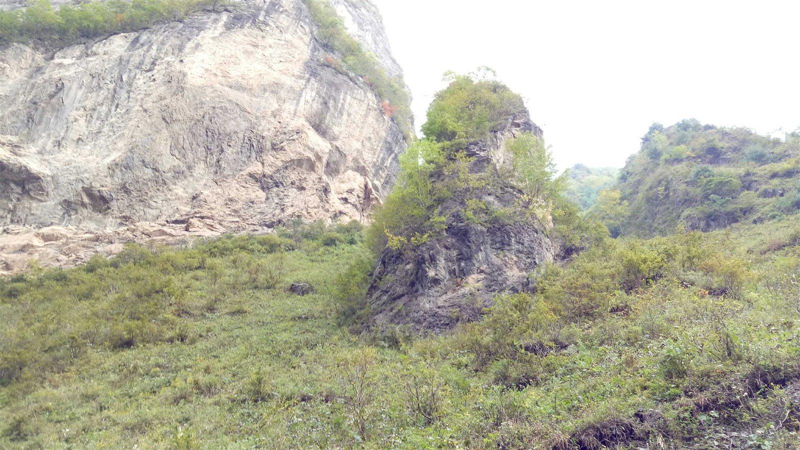 陇南市甘泉镇樊坝村自然风景区