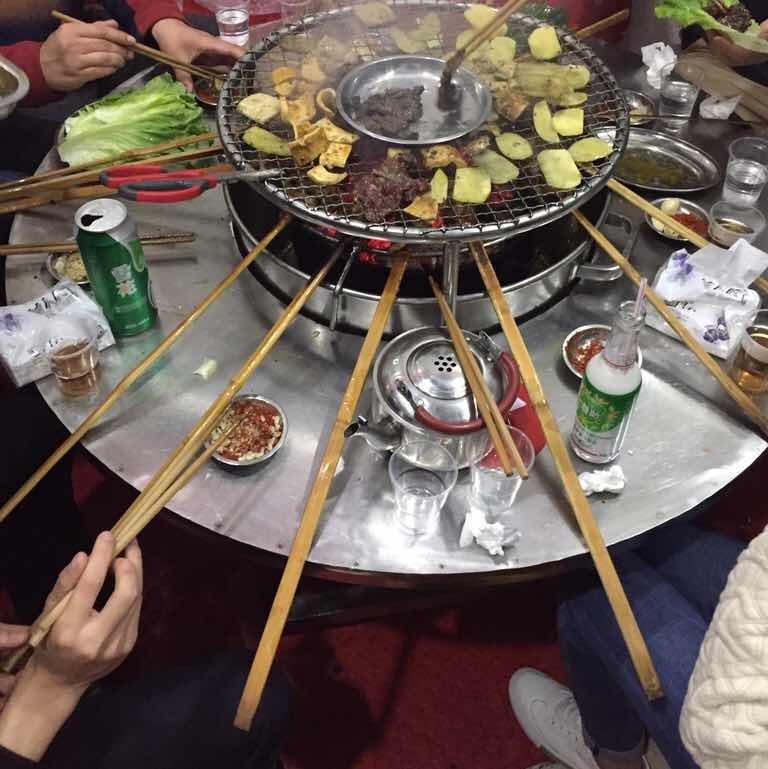 蒙哥大竹�烤肉
