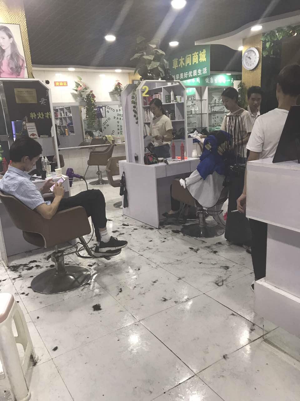 镇雄理发店转让低价转让