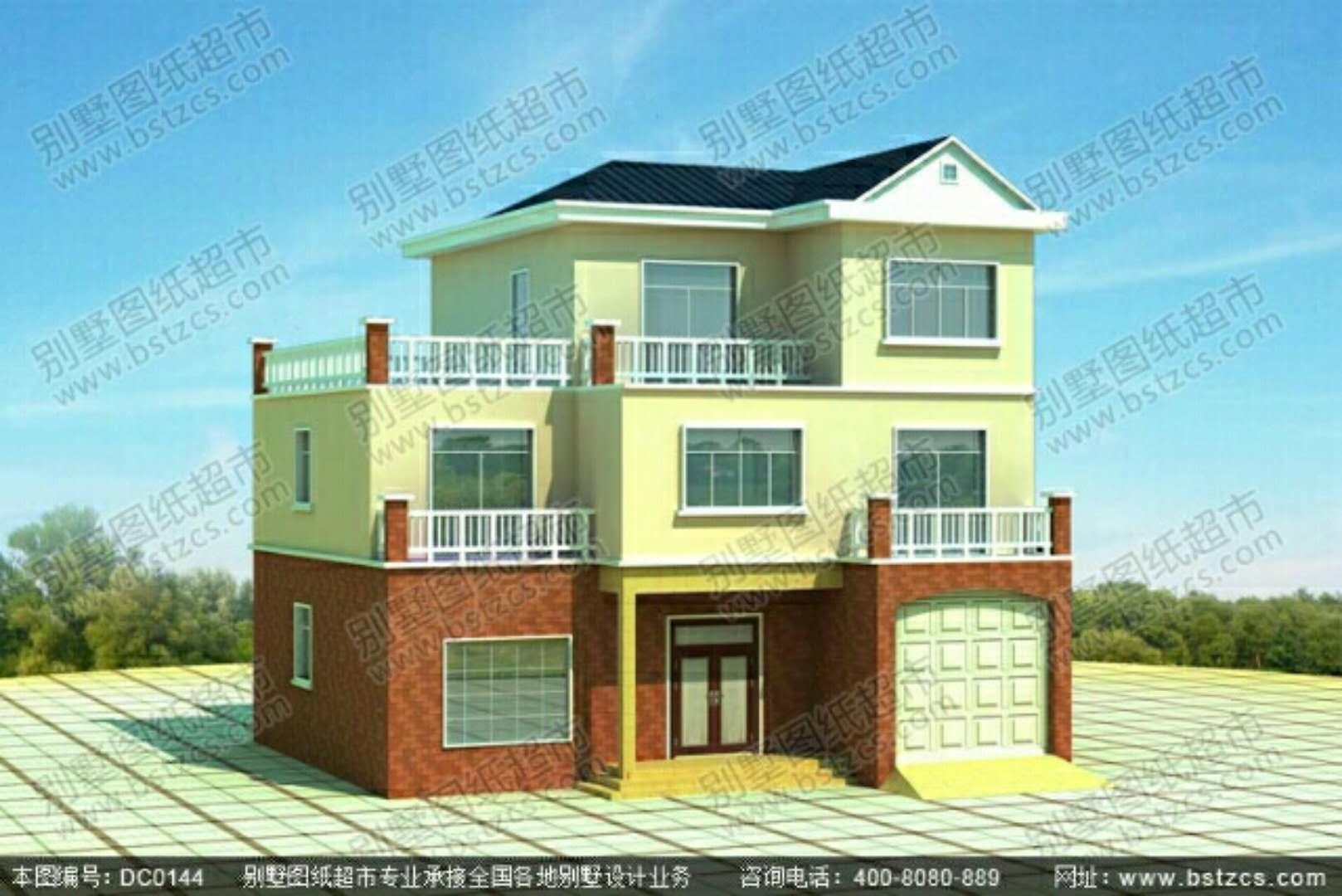 新农村房屋设计图 别墅设计图纸
