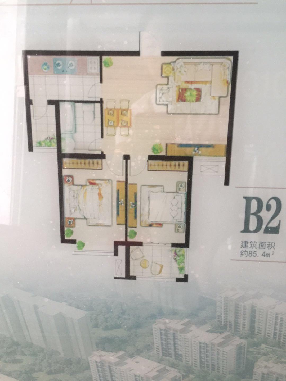 景苑社區2室 2廳 1衛33.73萬元