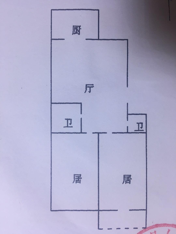 润家小区2室 1厅 2卫60万元