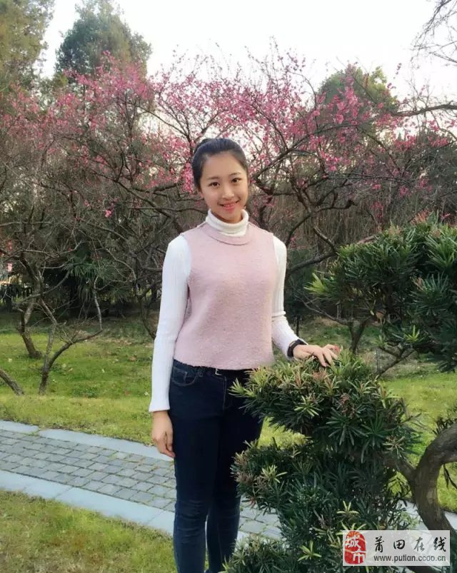 莆田的这位美女被评为全国 最美中学生 ,她来自莆田五中图片