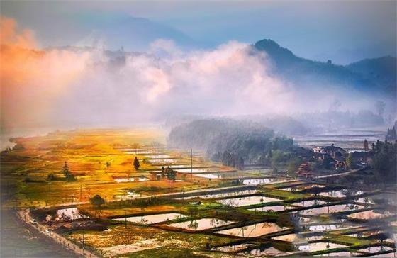 邵阳景点-绥宁花园阁国家湿地公园